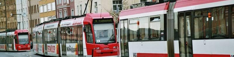Straßenbahnen in Nürnberg