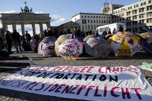 #refugeecamp Berlin Oktober 2012