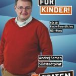 Kandidatenplakat Andrej Semen