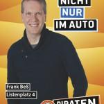 Kandidatenplakat Frank Beß