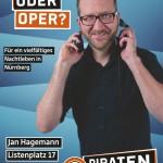 Kandidatenplakat Jan Hagemann