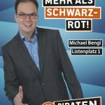 Kandidatenplakat Michel Bengl