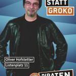 Plakat Oliver Hofstetter