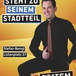 Kandidatenplakat Stefan Bengl