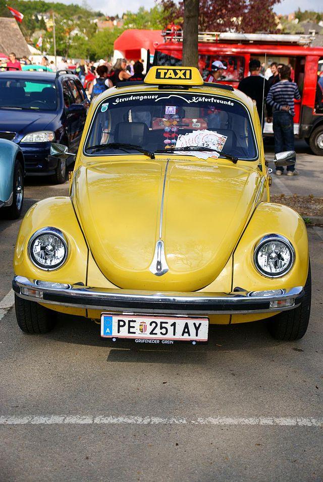 VW Käfer als Taxi