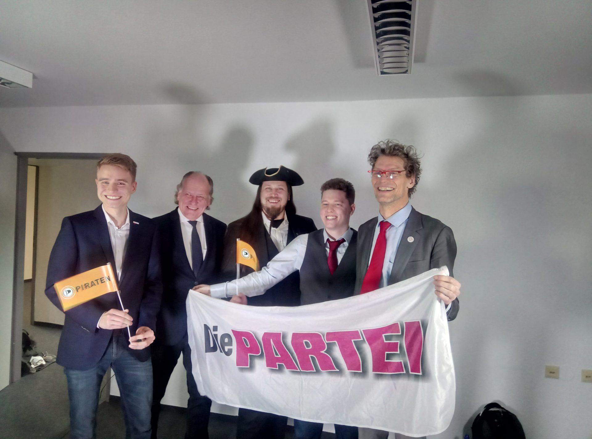 V.l.n.r.: Lukas Küffner, Robert Helmreich, Florian Betz, Simon Schelte und Jörg Knapp