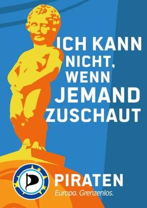 Wahlplakate EU-Wahl